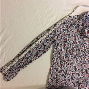 Tommy Hilfiger Tops - Tommy Hilfiger Floral Button Down